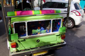 Every tuk tuk needs a subwoofer.
